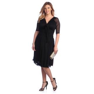 Kiyonna Women's 'Shirley' Plus Size Swing Dress