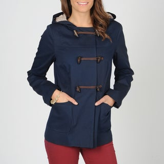 CoffeeShop Junior's Navy Blue Toggle Jacket