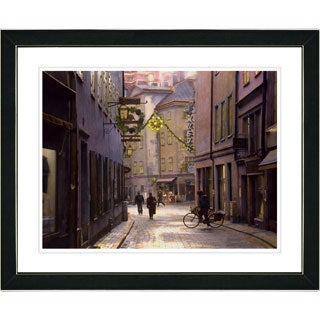 Studio Works Modern 'Old Town' Framed Art Print