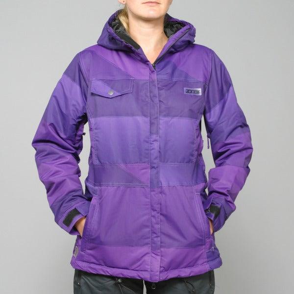 Zonal Women's 'Surface' Purple Snowboard Jacket