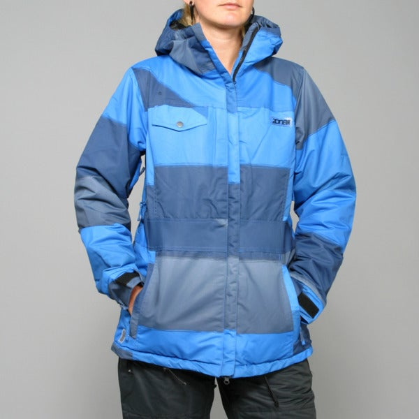 Zonal Women's 'Surface' Skydiver Blue Snowboard Jacket