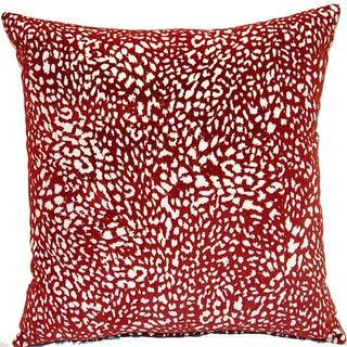 Jumanji Red 17-inch Pillows (Set of 2)