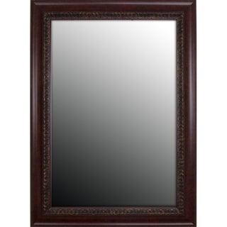 Birds Eye Cherry Gold Accents Mirror (31x43)