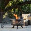 Monterey Bronze Rubbed Steel FP-001 31-inch Outdoor Fire Pit