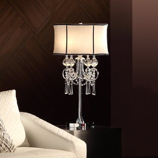 ETHAN HOME Hyland 32.50 inches Crystal Table Lamp