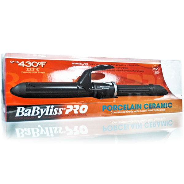 Babyliss Pro 1.25-inch Porcelain Ceramic Spring Curling Iron