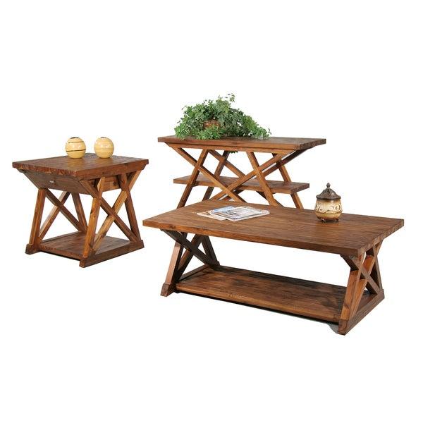 Farmhouse 3-piece Occasional Table Set