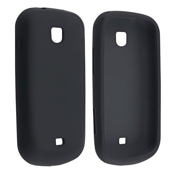BasAcc Black Silicone Case for Samsung Galaxy Stellar i200