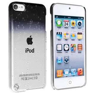 INSTEN Clear Smoke Waterdrop iPod Case Cover for Apple iPod Touch Generation 5