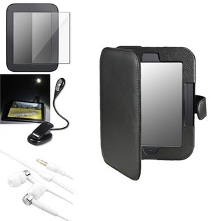 INSTEN Phone Case Cover/ Screen Protector/ LED Light for Barnes & Noble Nook 2