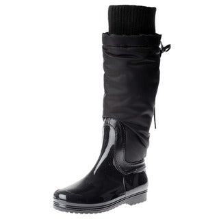 Henry Ferrera Girl's Black Lace Boots