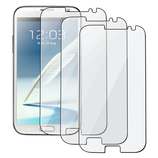 BasAcc 3-piece Screen Protector Set for Samsung Galaxy Note II N7100
