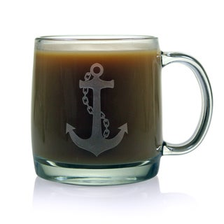 Anchor Collection 13-ounce Coffee Mugs (Set of 4)