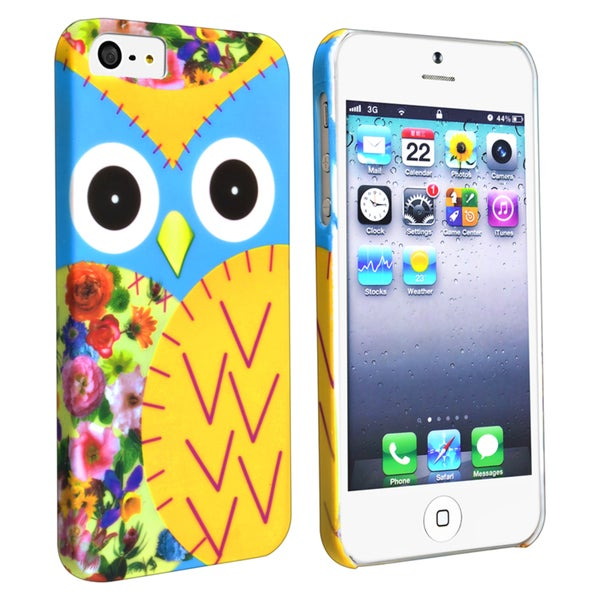 BasAcc Colorful Owl Rear Snap-on Case for Apple iPhone 5