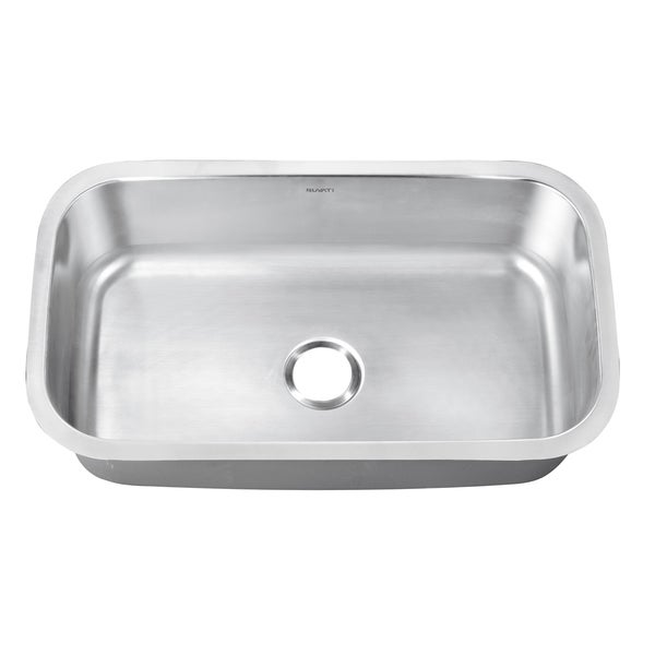 Ruvati RVK4200 Undermount Stainless Steel 32-inch Kitchen Sink Single Bowl