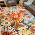 Mandie Floral Multi Area Rug