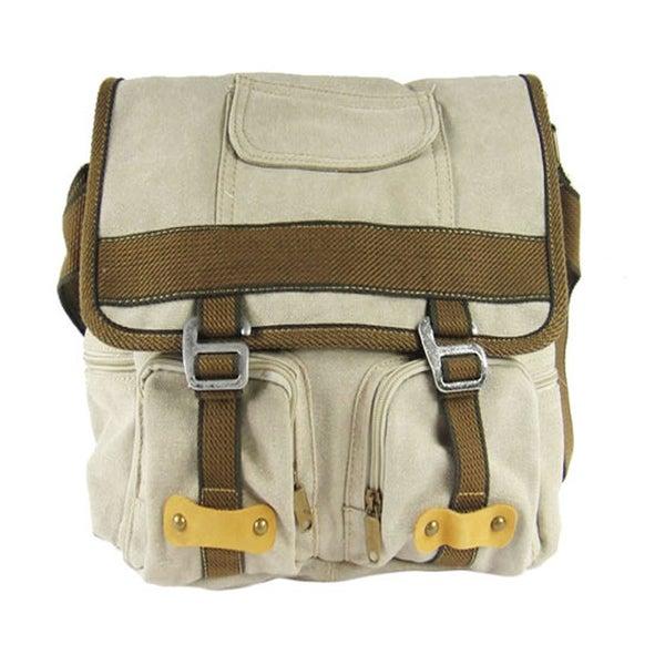 Bedox BX Olive Canvas Shoulder Bag