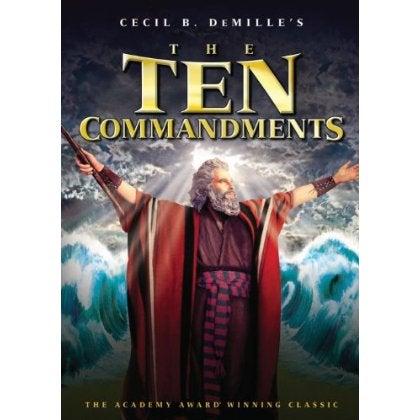 The Ten Commandments (Restoration Version) (DVD)