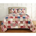 Ariana Handmade Patchwork 3-piece Quilt Set