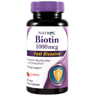 Natrol® Biotin 1000mcg Fast Dissolve (90 Tablets)