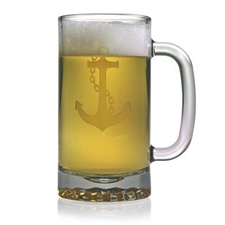 Anchor Collection 16-ounce Pub Beer Mugs (Set of 4)