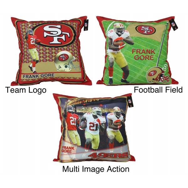 NFL Biggshots San Francisco 49ers Frank Gore Toss Pillow