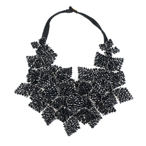Black Chord Necklace (India)