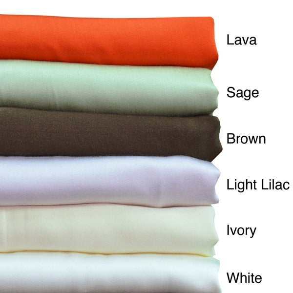 Brielle 100-percent Bamboo From Rayon Pillowcases (Set of 2)