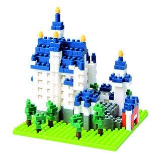 nanoblock Sites to See Level 3 - Neuschwanstein Castle: 550 Pcs
