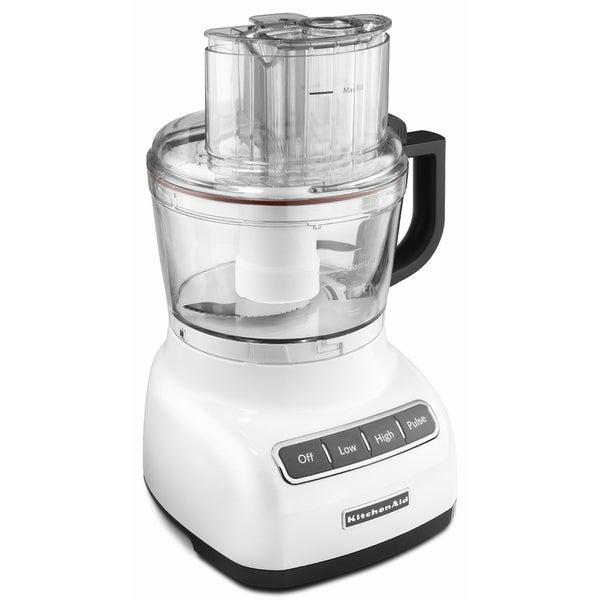 KitchenAid RKFP0922WH White 9-cup Food Processor (Refurbished)