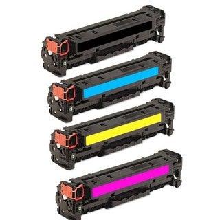 HP Black/ Color Toner Cartridges (Pack of 4) (Remanufactured)