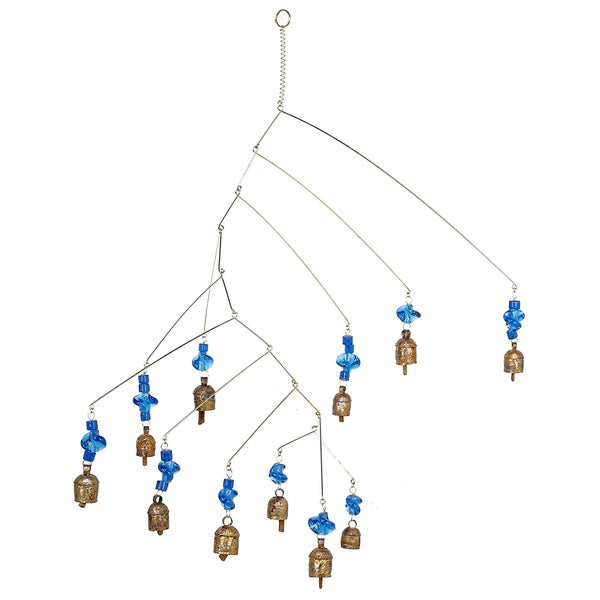 Noah Bells on the Move Blue Wind Chime (India)