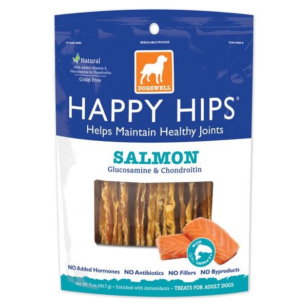 Dogswell Happy Hips Salmon Treats (5 ounces)