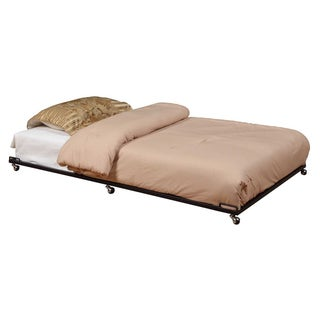 K&B Black Trundle Bed
