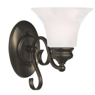 Padula 9-inch Black 1-light Wall Sconce