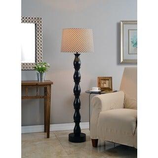 Ballao Ikat Shade Floor Lamp