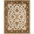 Alliyah Rugs Vanilla Wool Rug (10&#39; x 14&#39;)
