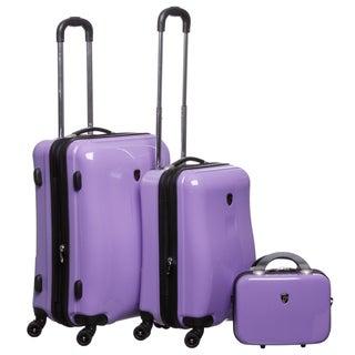 Heys USA Exotic 3-piece Hardside Spinner Luggage Set