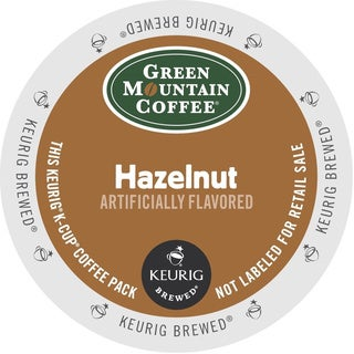 Green Mountain Coffee Hazelnut K-Cups for Keurig Brewers (Box of 48)