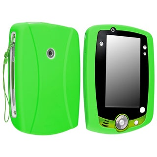 INSTEN Green Soft Silicone Phone Case Cover for LeapFrog LeapPad 2