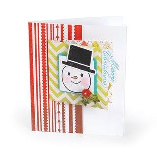 Sizzix Textured Impressions Embossing Folder & Stamp Set-Hero Arts Fun Stripes