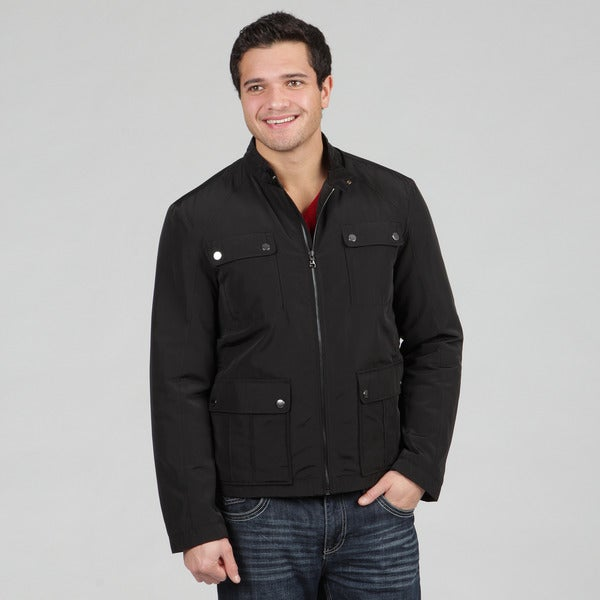 Hugo Boss Black Men's Light Weight Jacket Coss 2 Casual Black Color
