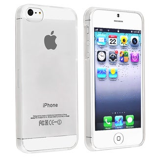 GeekManiac Clear Snap-on Slim Case for Apple iPhone 5