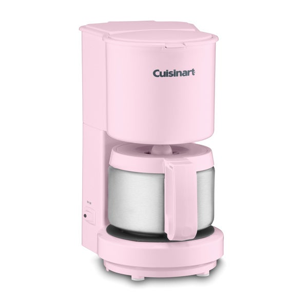 Cuisinart Coffee Maker Coffee Not Hot Enough : Cuisinart DCC-450PK Pink 4-cup Coffeemaker