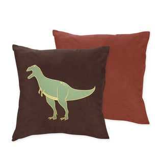 Sweet JoJo Designs Dinosaur Decorative Throw Pillow