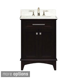Water Creation Manhattan Collection Single Sink Bathroom Vanity Set
