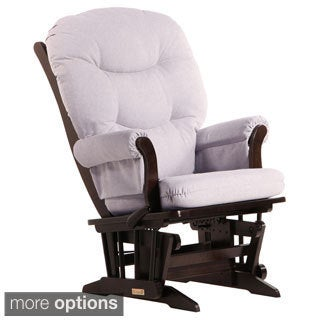 Dutailier Ultramotion Multi-position Light Grey Reclining Sleigh Glider