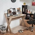 Intersecting Cappuccino Home/ Office Desk