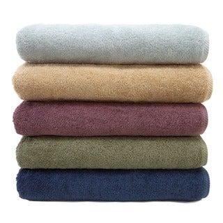 Authentic Plush Soft Twist Hotel and Spa Turkish Cotton Bath Towel (Set of 2)