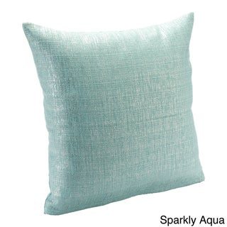 Sparkly 18-inch Decorative Pillow
